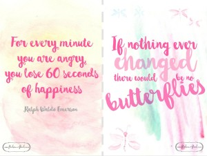 Inspirational quote cards (b)