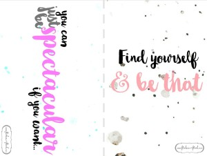 Inspirational quote cards (a)