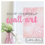 Simply stunning DIY wall art
