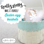 Easter egg hunt + make-it-yourself Easter basket