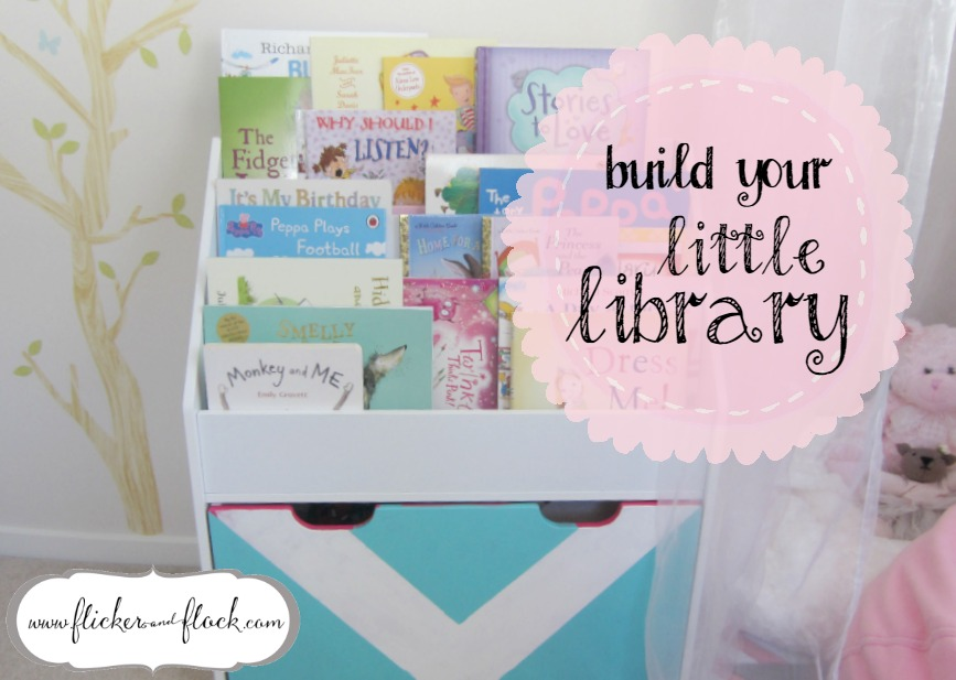 The perfect little library shelf for your kids reading nook