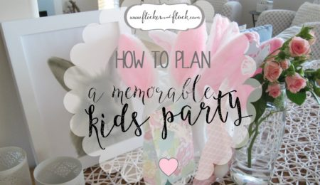 How to plan a memorable kids party