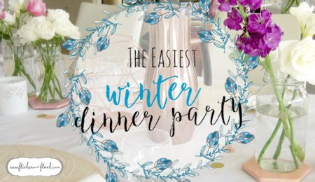 The easiest [+ prettiest] winter dinner party guide!